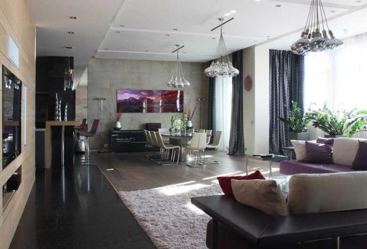 Интерьер квартиры на Мичуринском проспекте