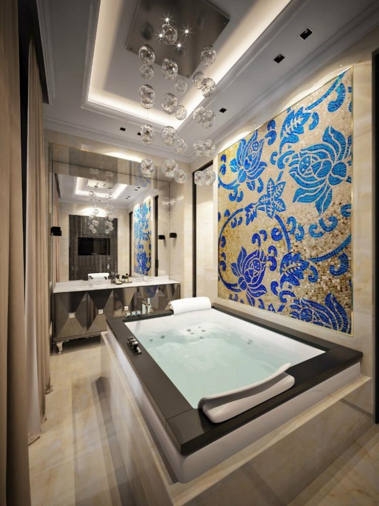 Квартира в стиле ар-деко