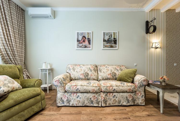 Интерьер квартиры в ЖК «Лосиный остров», 45 м2
