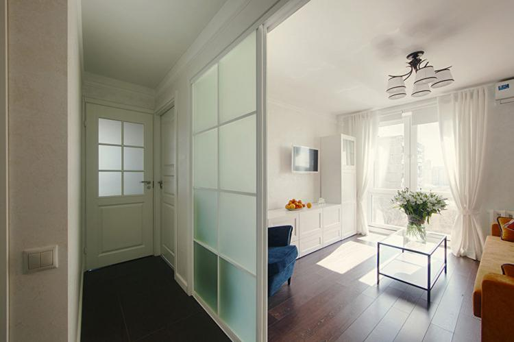 Интерьер маленькой квартиры для аренды