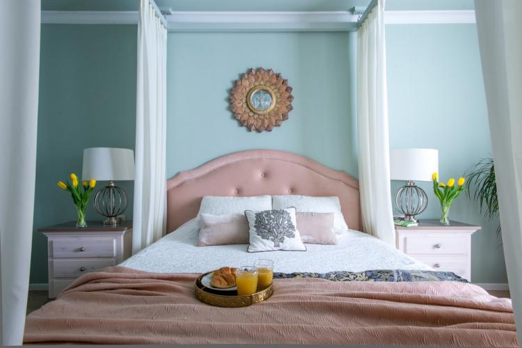 Интерьер спальни «С Любовью к Бали»