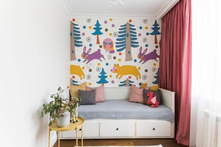 Выбор цвета - Как подобрать обои к мебели