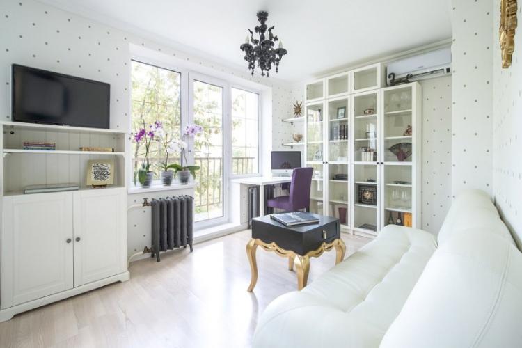Как подобрать обои к мебели в гостиной