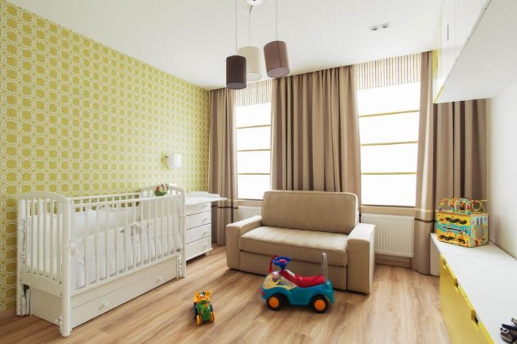 Как подобрать обои к мебели в детской комнате