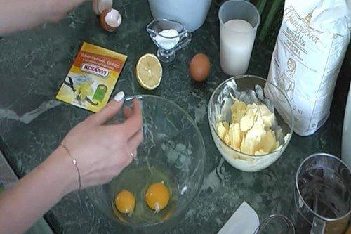 Песочное тесто с лимонным соком - пошаговый рецепт