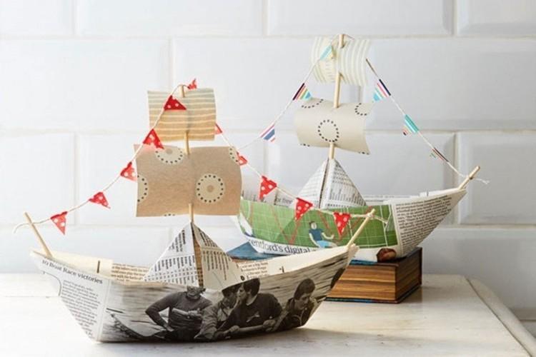 Как сделать кораблик из бумаги: 7 лучших схем