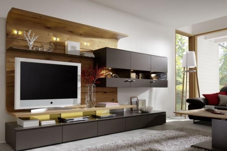 В мебель - как спрятать провода от телевизора
