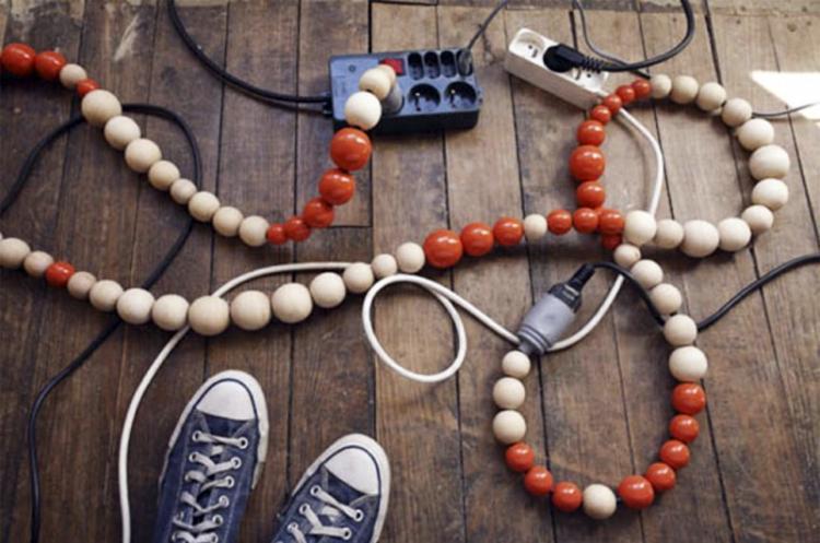 Провода в «этническом» стиле - как спрятать провода от телевизора