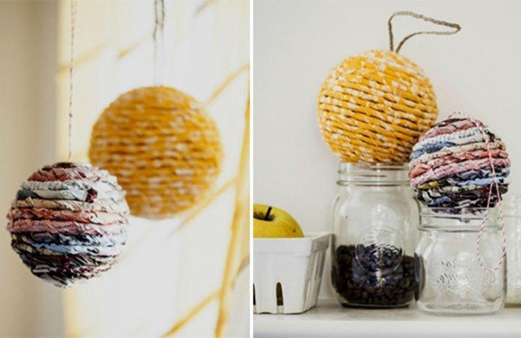Необычные новогодние шары - Как украсить квартиру на Новый год 2020