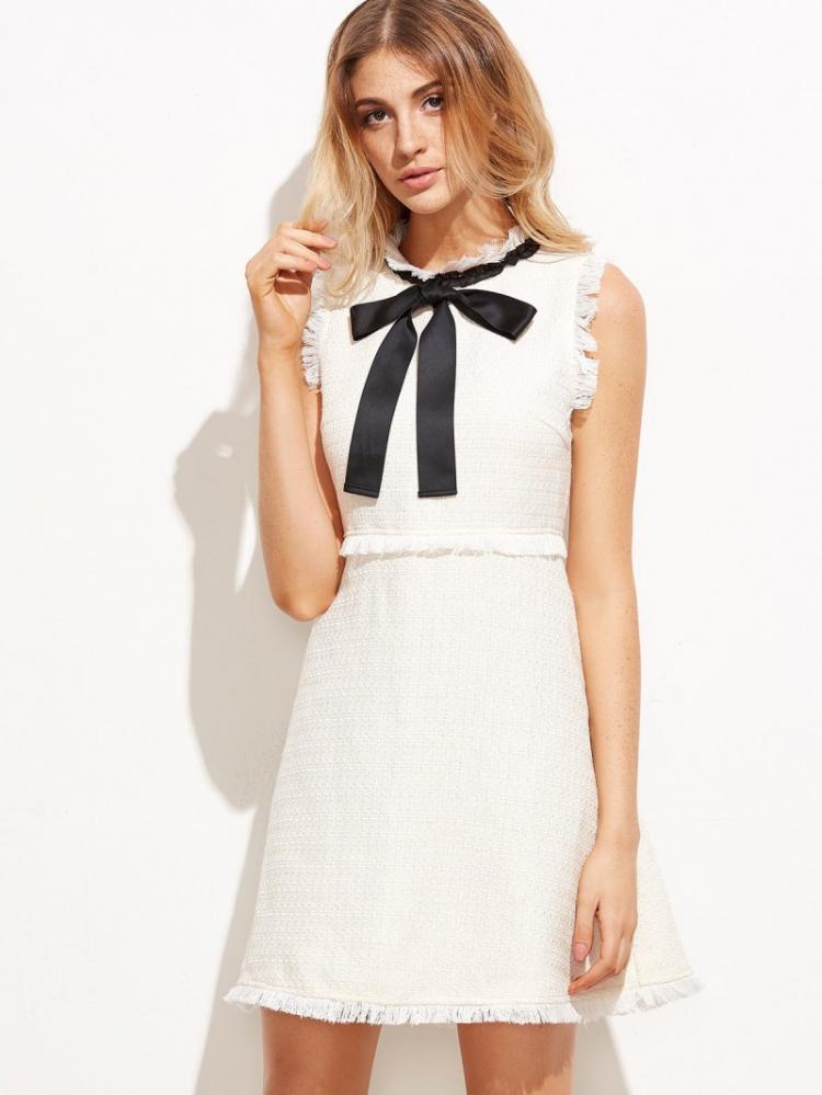 Украшаем платье бантом - Как украсить платье своими руками