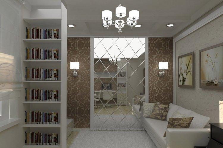 Зеркала - Как визуально увеличить комнату