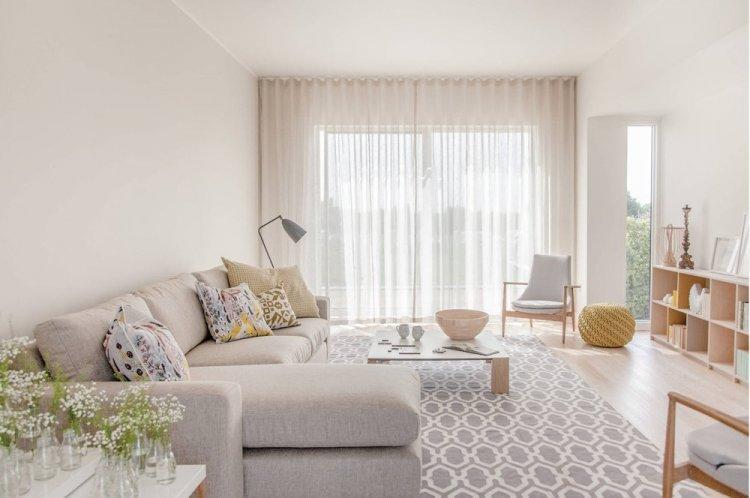 Светлые оттенки - Как визуально увеличить комнату