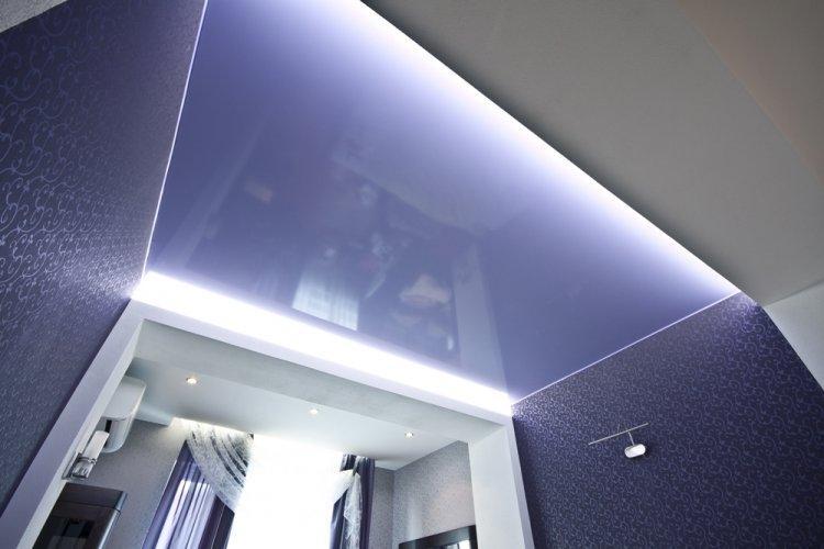 Натяжные потолки - Как визуально увеличить комнату