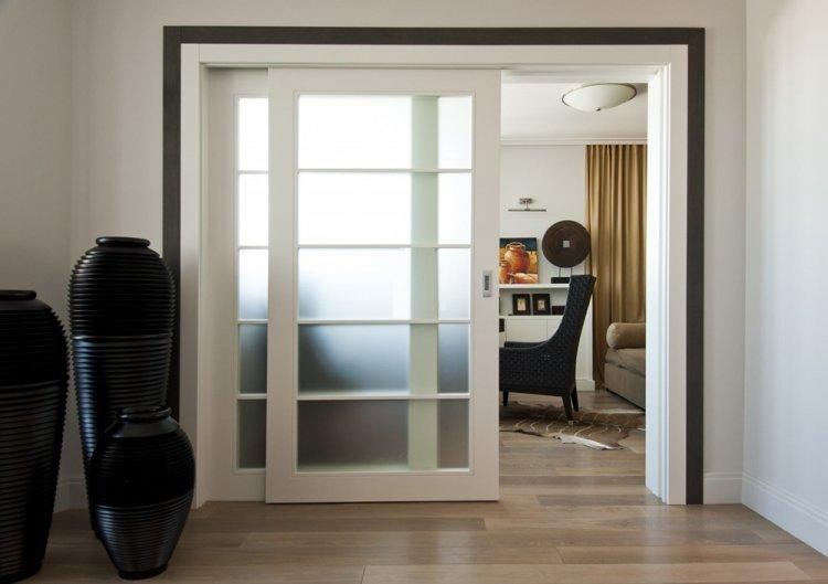Раздвижные двери - Как визуально увеличить комнату