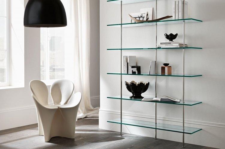 Стеклянная мебель - Как визуально увеличить комнату