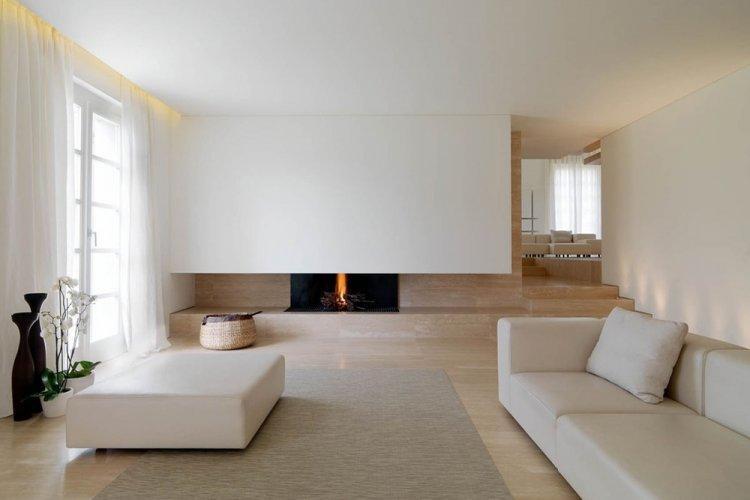 Минимализм в декоре - Как визуально увеличить комнату
