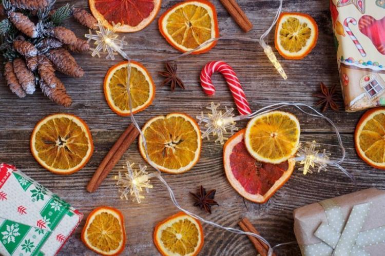 Как засушить апельсин для декора: сушеные и вяленые, как сделать в духовке