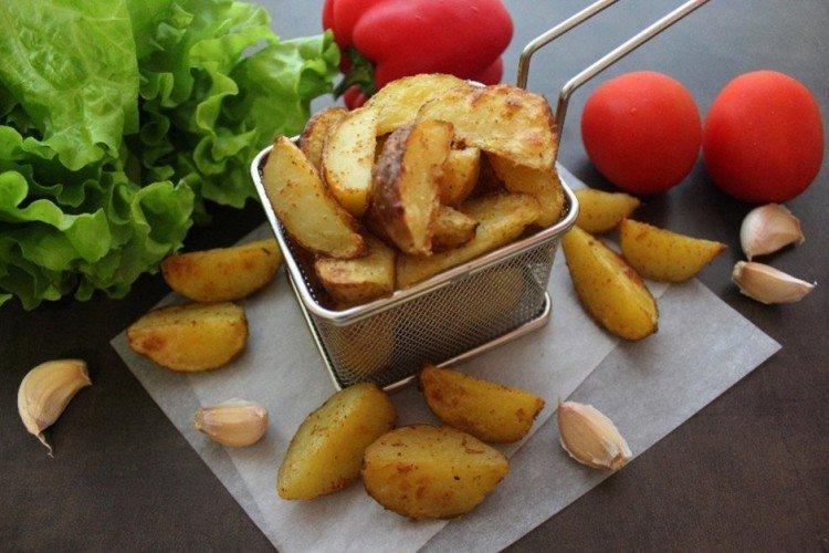 Картофель Айдахо запеченный в духовке - рецепты