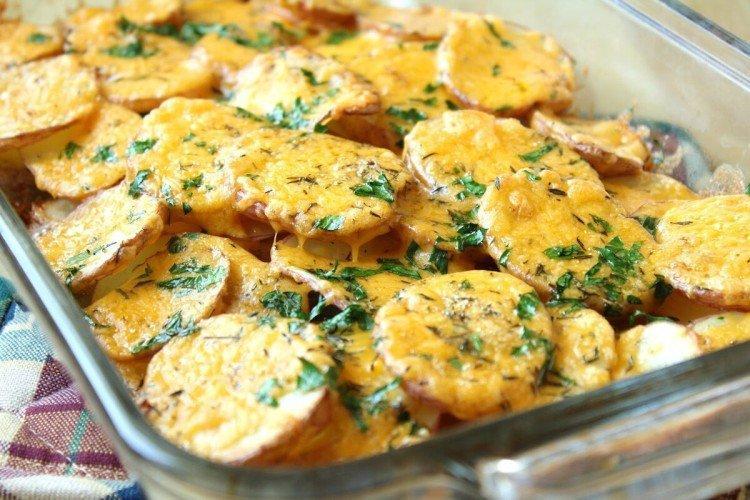 Картофель по-деревенски «Особенный» в духовке - рецепты