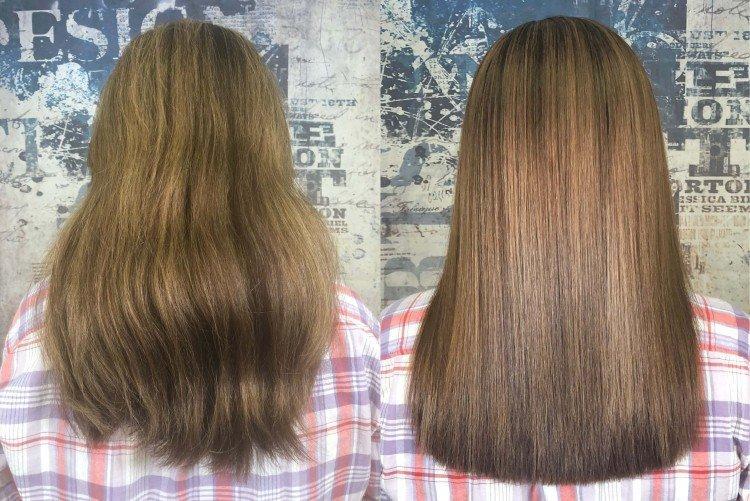 Что это - Кератиновое выпрямление волос