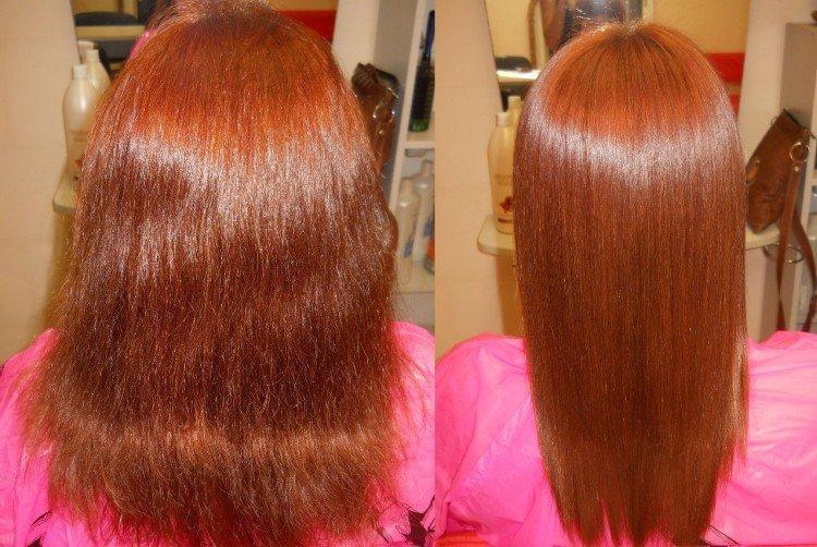 Противопоказания - Кератиновое выпрямление волос