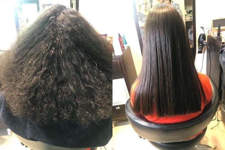 Преимущества - Кератиновое выпрямление волос