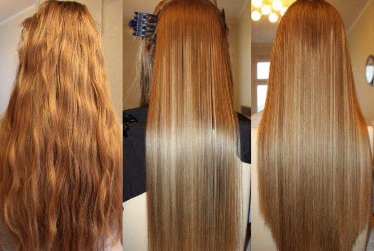 Недостатки - Кератиновое выпрямление волос