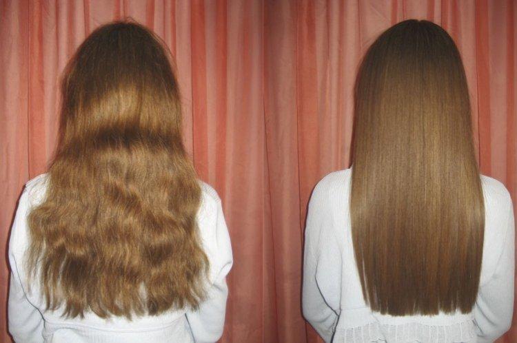 Как ухаживать за волосами после кератина