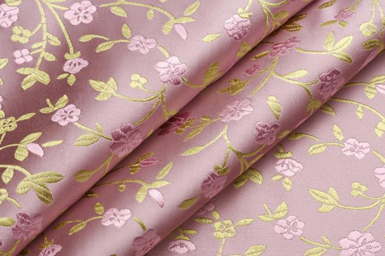 Текстильные обои - Комбинирование обоев в спальне