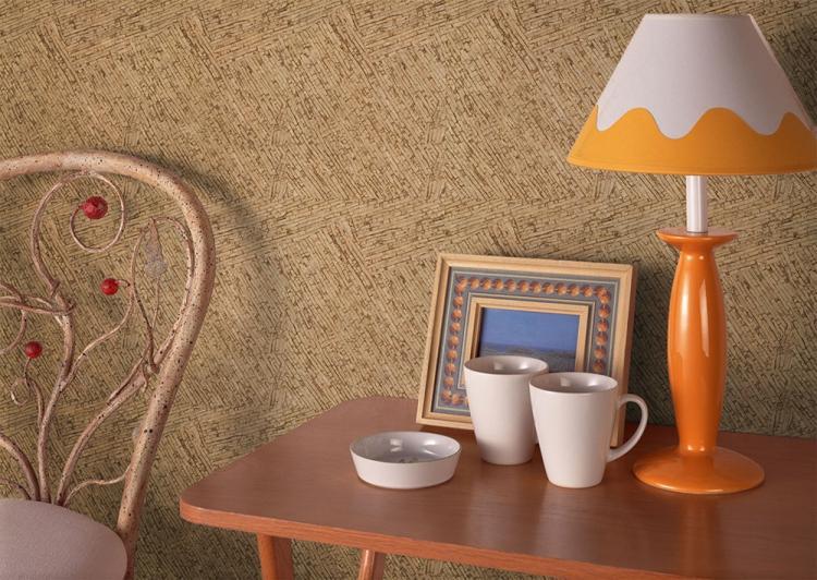 Экзотические обои - Комбинирование обоев в спальне