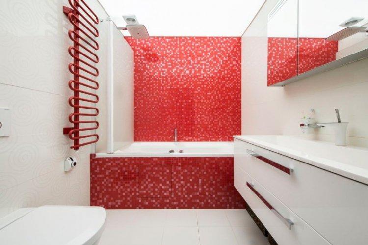 Красный с белым - Сочетание цветов в интерьере