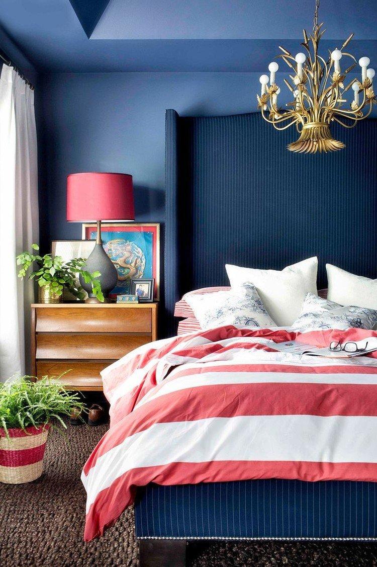 Красный с синим - Сочетание цветов в интерьере