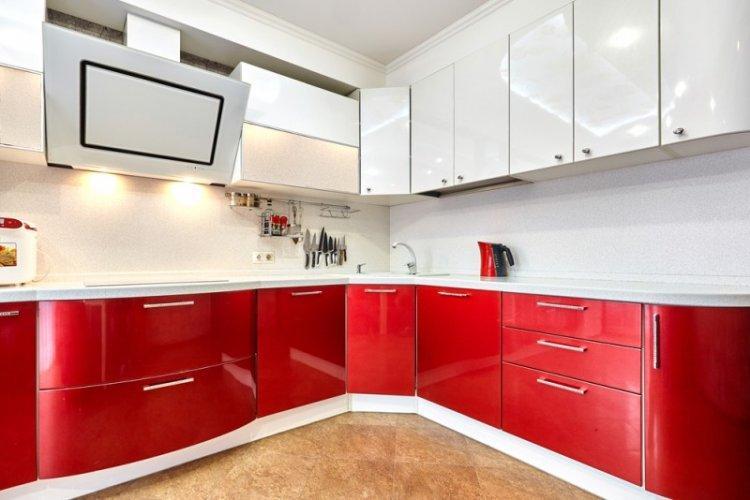 Современный стиль - Красный цвет в интерьере