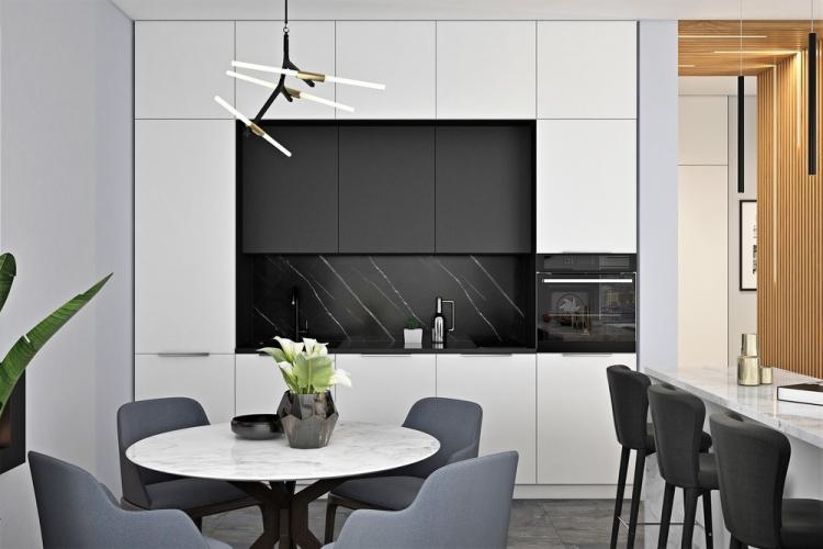 Кухня-гостиная «Восхождение» - дизайн интерьера