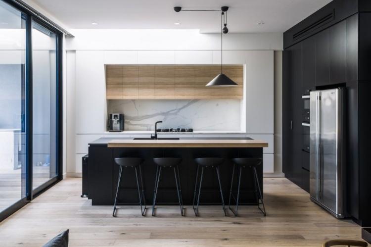 Дизайн кухни с островом: 85 фото красивых решений