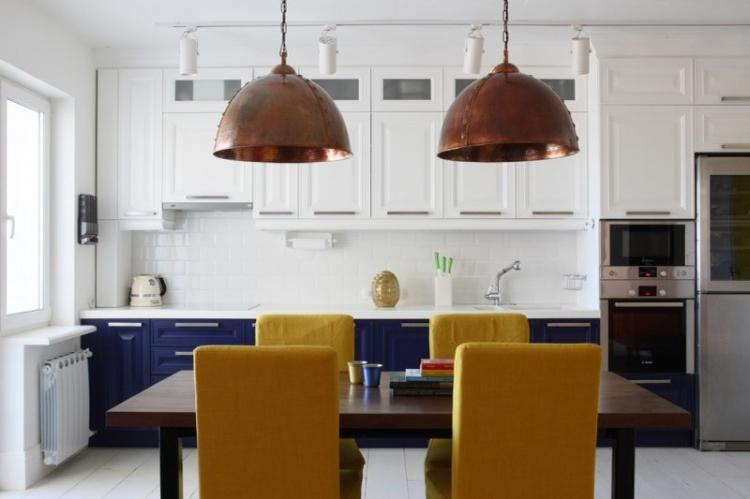 Как оформить кухню-столовую: 75 идей дизайна