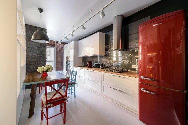 Кухня-столовая в скандинавском стиле - Дизайн интерьера
