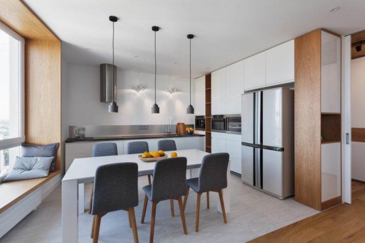 Мебель и техника - Дизайн кухни-столовой