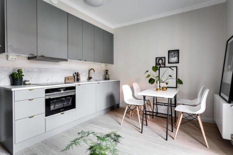 Как оформить маленькую кухню-столовую - Дизайн интерьера