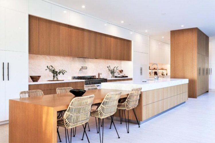 Дизайн кухни-столовой - фото и идеи