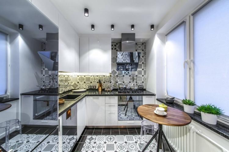 Мебель - Дизайн кухни в стиле модерн