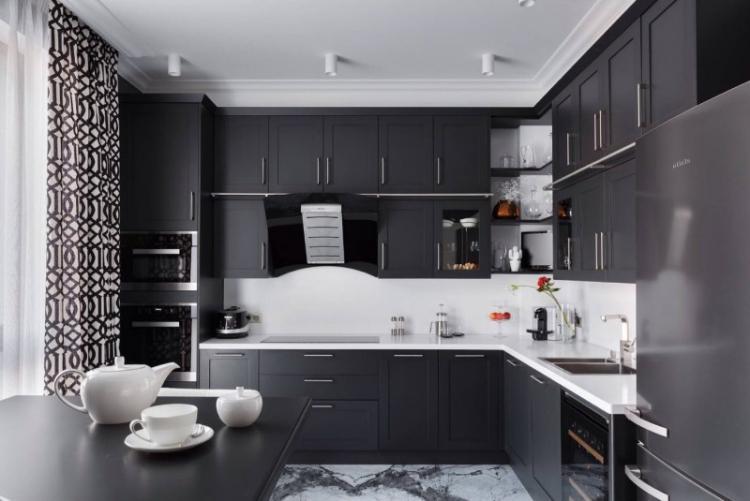 Фартук для кухни в стиле модерн