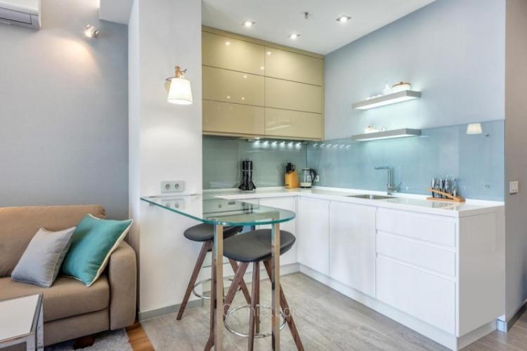 Дизайн кухни-гостиной в стиле модерн