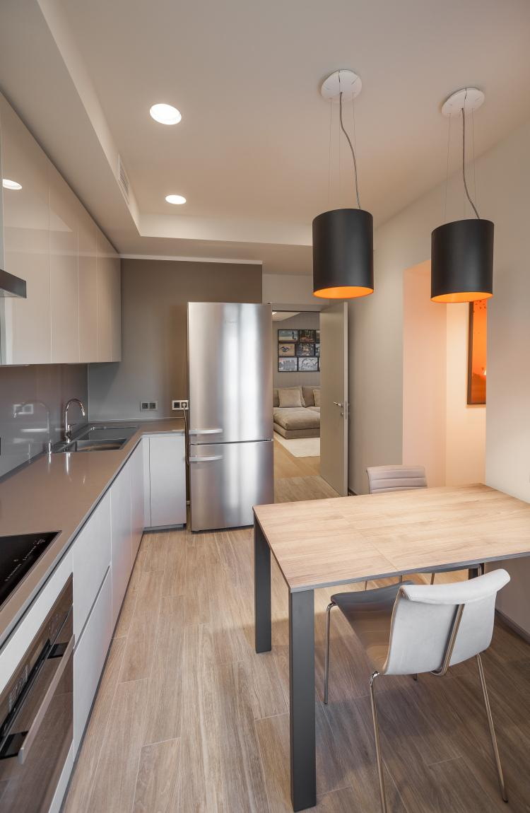 Квартира «102 оттенка серого» - дизайн интерьера