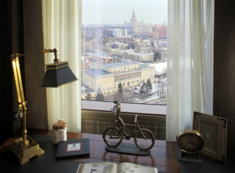 Квартира 140 м2 на Мосфильмовской улице - дизайн интерьера