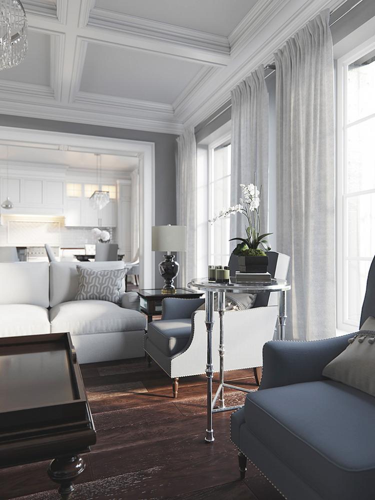 Квартира «Американский акцент» - дизайн интерьера