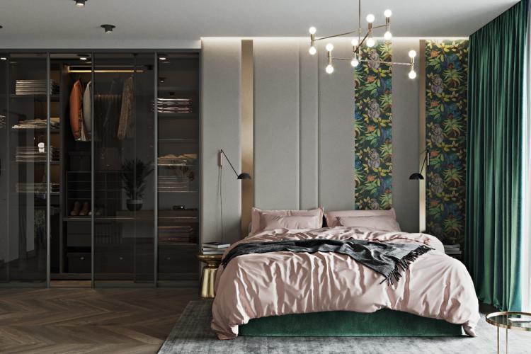 Квартира «Бетонные джунгли» - дизайн интерьера