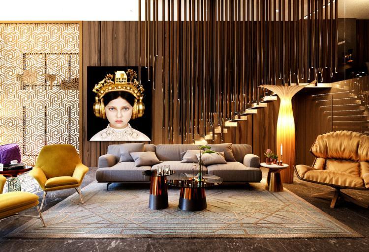 Квартира «Brass&Wood»