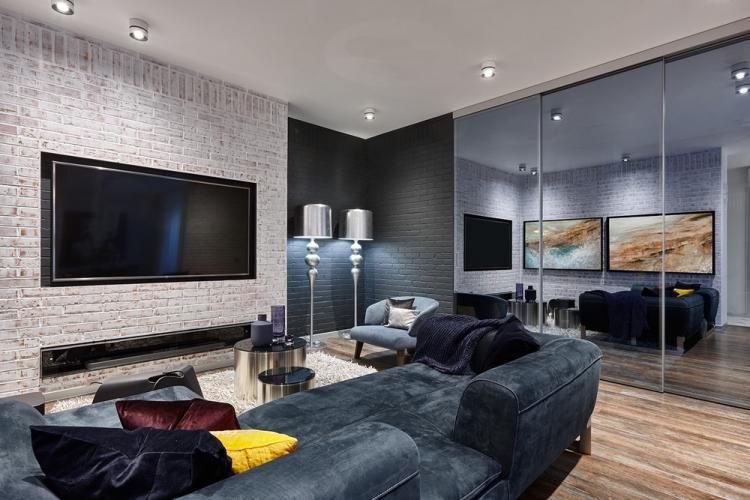 Квартира «Лофт в отражении»