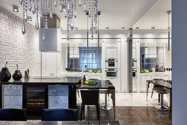 Квартира «Лофт в отражении» - дизайн интерьера